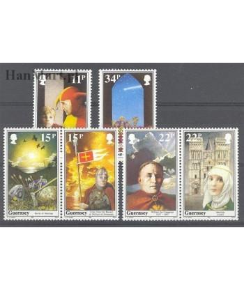 Guernsey 1987 Mi 397-402 Czyste **