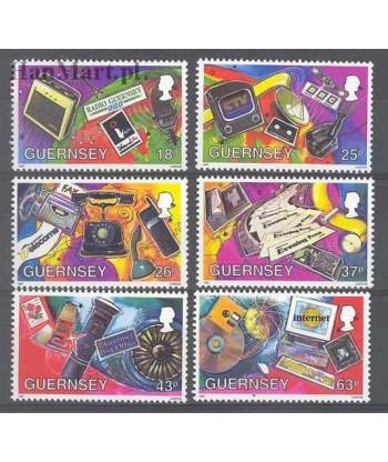 Guernsey 1997 Mi 741-746 Czyste **