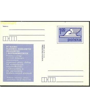 Polska 1975 Mi 648 Karty pocztowe czyste