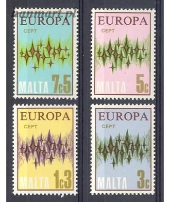Malta 1972 Mi 450-453 Czyste **