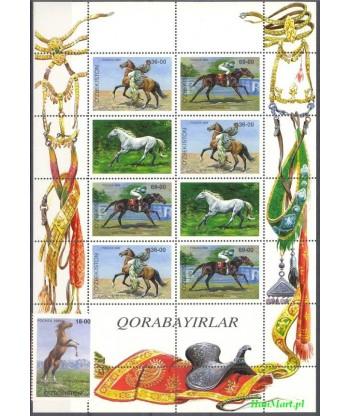 Uzbekistan 1999 Mi 194-196 Czyste **