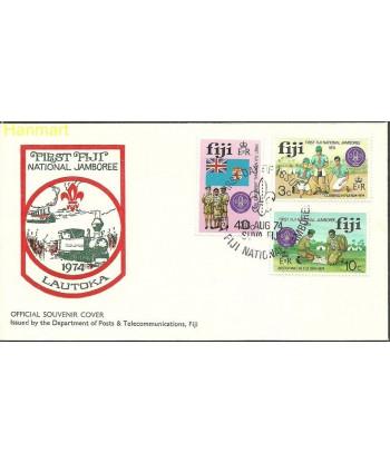 Fidżi 1974 Mi 324-326 FDC