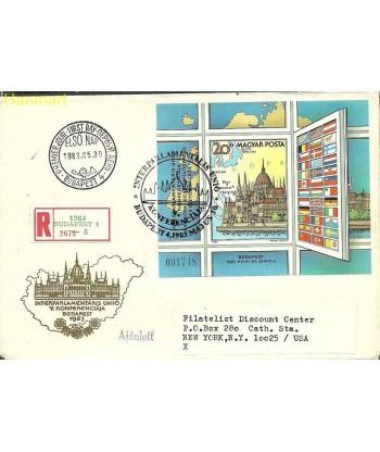 Węgry 1983 Mi adrbl163B FDC