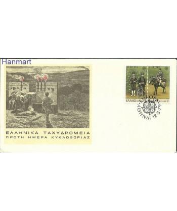 Grecja 1979 Mi 1352-1353 FDC