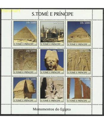 Wyspy Świętego Tomasza i Książęca 2003 Mi ark2360-2368 Czyste **