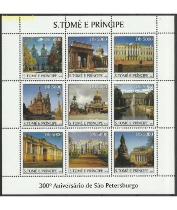 Wyspy Świętego Tomasza i Książęca 2003 Mi ark2449-2457 Czyste **
