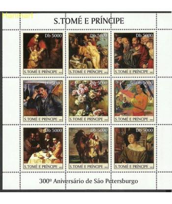 Wyspy Świętego Tomasza i Książęca 2003 Mi ark2458-2466 Czyste **