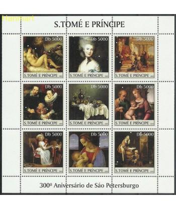 Wyspy Świętego Tomasza i Książęca 2003 Mi ark2467-2475 Czyste **