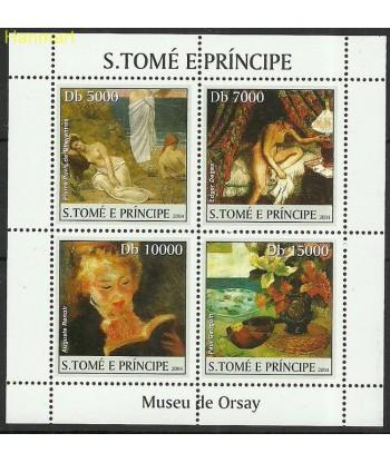 Wyspy Świętego Tomasza i Książęca 2004 Mi ark2531-2534 Czyste **