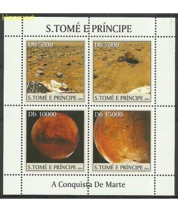 Wyspy Świętego Tomasza i Książęca 2004 Mi ark2644-2647 Czyste **
