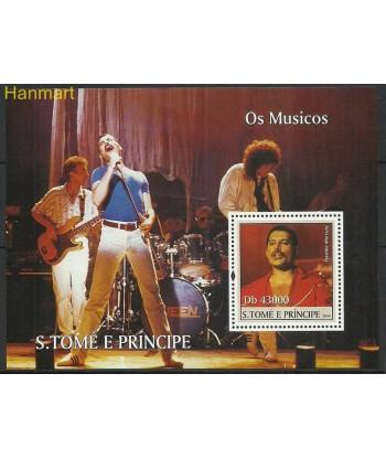 Wyspy Świętego Tomasza i Książęca 2004 Mi bl491 Czyste **