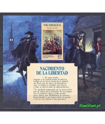 Nikaragua 1975 Mi bl 85 Czyste **