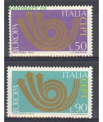 Włochy 1973 Mi 1409-1410 Czyste **