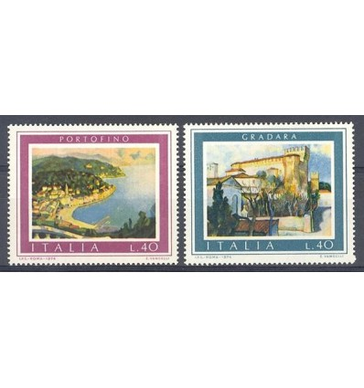 Italy 1974 Mi 1458-1459 MNH