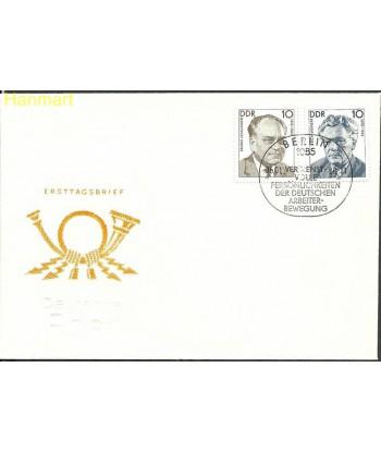Niemiecka Republika Demokratyczna / DDR 1990 Mi 3300-3301 FDC