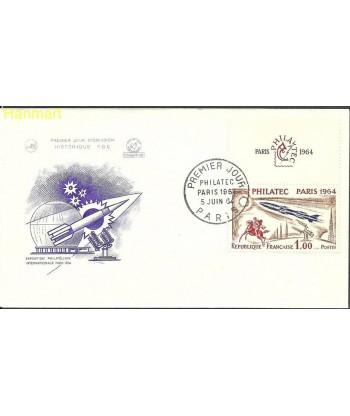 Francja 1964 Mi 1480 FDC