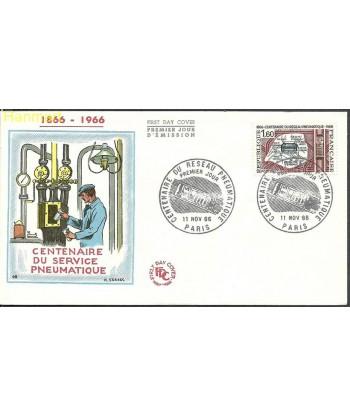 Francja 1966 Mi 1563 FDC