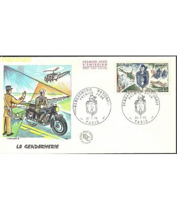 Francja 1970 Mi 1695 FDC