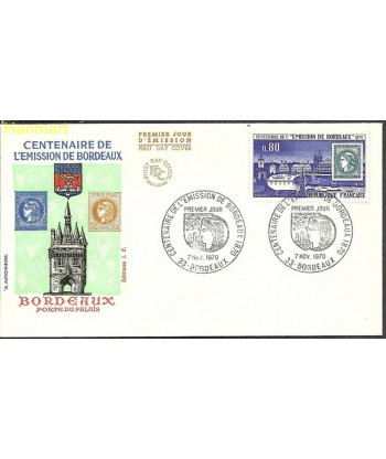 Francja 1970 Mi 1730 FDC
