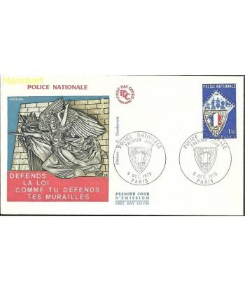 Francja 1976 Mi 1995 FDC