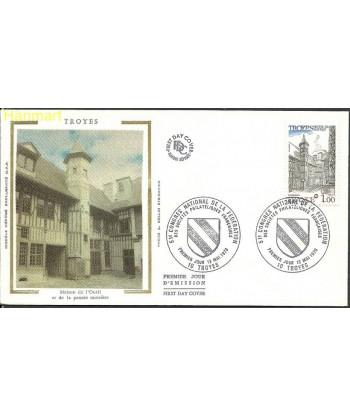 Francja 1978 Mi 2100 FDC