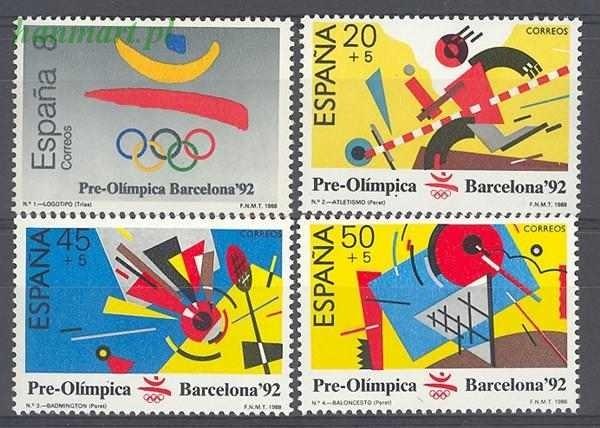 Spain 1988 Mi 2844-2847 MNH