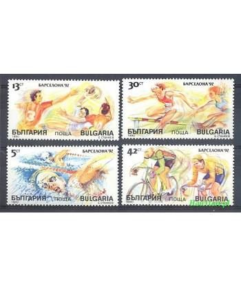 Bułgaria 1990 Mi 3846-3849 Czyste **