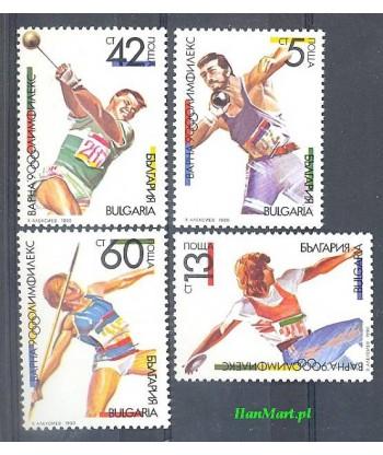 Bułgaria 1990 Mi 3866-3869 Czyste **