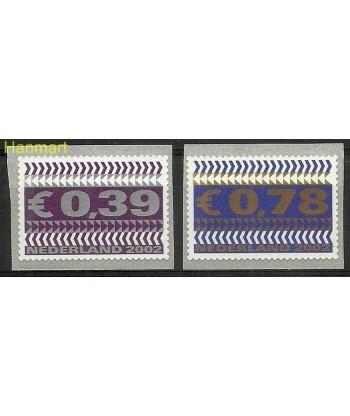 Holandia 2002 Mi 1968-1969 Czyste **