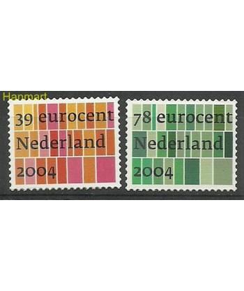 Holandia 2004 Mi 2195-2196 Czyste **