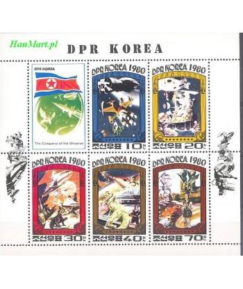 Korea Północna 1980 Mi 2003-2007 Czyste **