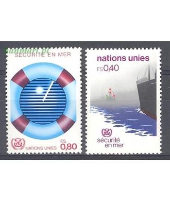 Narody Zjednoczone Genewa 1983 Mi 112-113 Czyste **