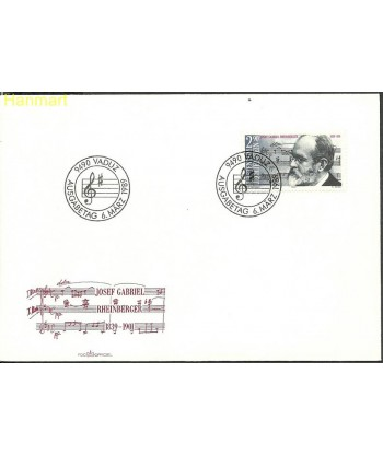 Liechtenstein 1989 Mi 963 FDC