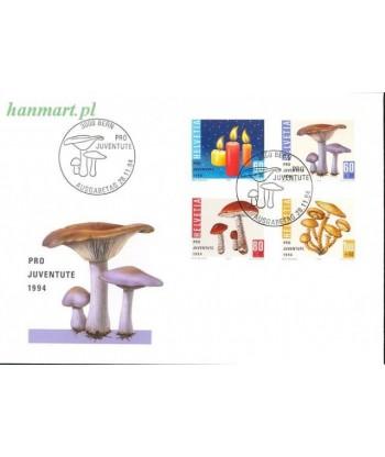 Szwajcaria 1994 Mi 1536-1539 FDC