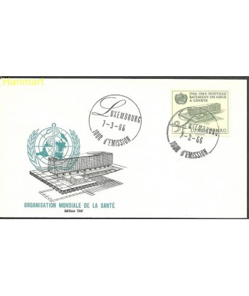 Luksemburg 1966 Mi 724 FDC