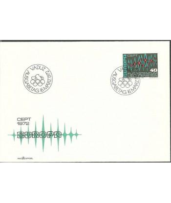 Liechtenstein 1972 Mi 564 FDC