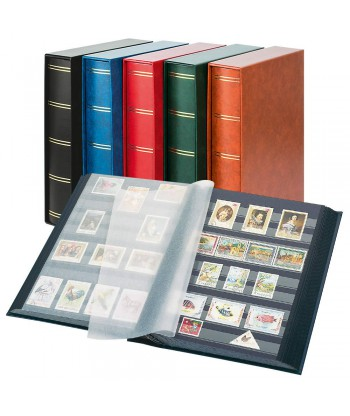 Klaser 30 stron / 60 kartek czarnych z etui