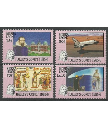 Sierra Leone 1986 Mi 883-886 Czyste **