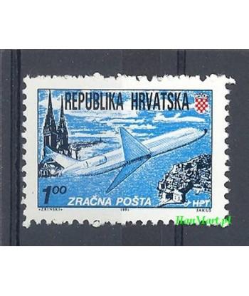 Chorwacja 1991 Mi  Czyste **
