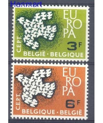 Belgia 1961 Mi 1253-1254 Czyste **