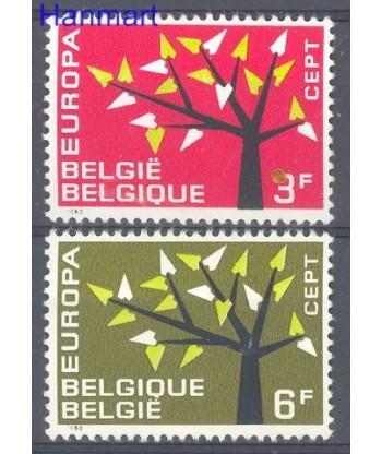 Belgia 1962 Mi 1282-1283 Czyste **