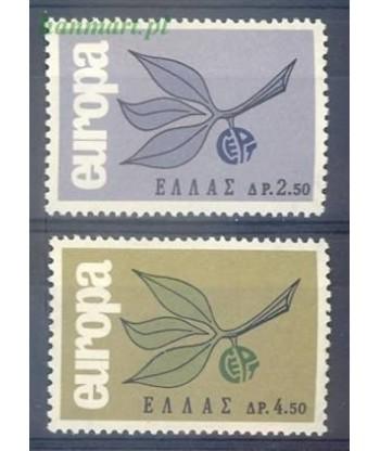 Grecja 1965 Mi 890-891 Czyste **