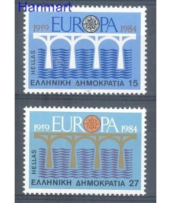 Grecja 1984 Mi 1555-1556 Czyste **