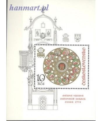 Czechosłowacja 1978 Mi bl 35 Czyste **