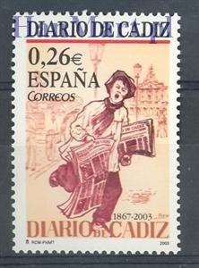 Hiszpania 2003 Mi 3854 Czyste **