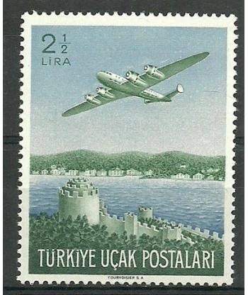 Turcja 1950 Mi 1248 Z podlepką *