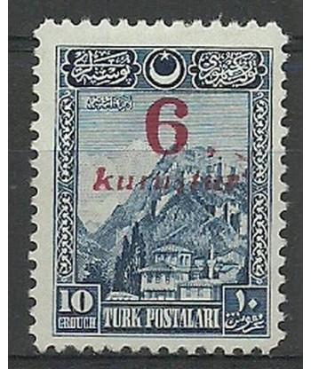 Turcja 1929 Mi 884 Z podlepką *