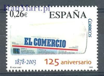 Hiszpania 2003 Mi 3874 Czyste **
