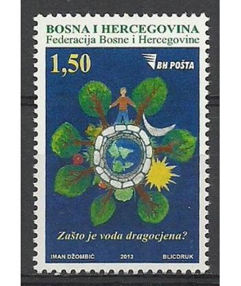 Bośnia i Hercegowina 2013 Mi 633 Czyste **