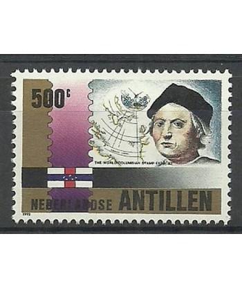 Antyle Holenderskie 1992 Mi 751 Czyste **